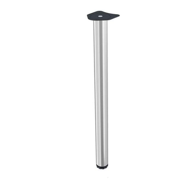 TABLE LEG KSN D.60 NIKEL SATIN
